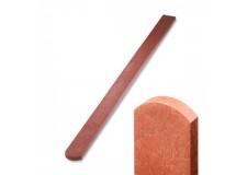 Plotovka 78 x 21 mm, 1,0 m, s půlkulatou hlavou, cilhlová barva