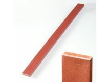 Plotovka 78 x 21 mm, 0,98 m, s rovnou hlavou, cihlová barva