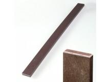 Plotovka 78 x 21 mm, 1,18 m, s rovnou hlavou, hnědá barva