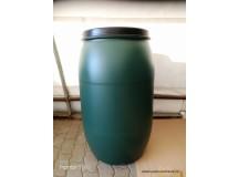 Plastový sud 120l s atestem zelený