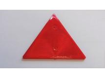 Odrazka trojúhelník, červený, VARES