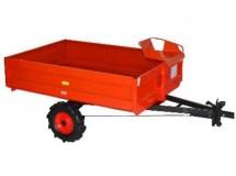 Vlečka, přívěsný brzdový vozík PVT 400, AGZAT