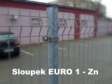 Sloupek Euro 1 pozinkovaný