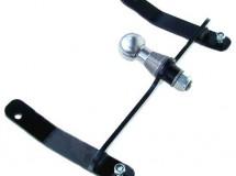 Závěs pro připojení vozíku - univerzální (Castelgarden) s koulí ISO50, VARES