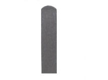 Plotovka 78 x 21 mm, 1,0 m, s půlkulatou hlavou, šedá barva
