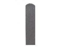 Plotovka 78 x 21 mm, 0,8 m, s půlkulatou hlavou, šedá barva